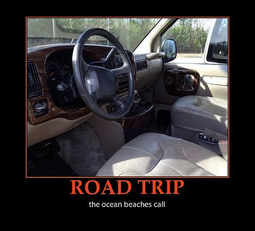 chevy van road trip