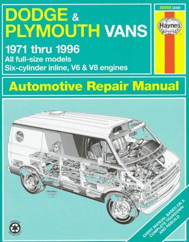 Dodge Van manual
