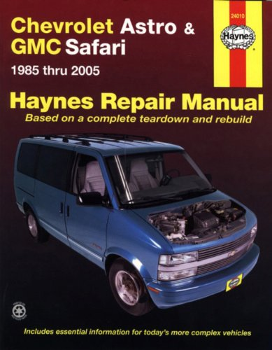 GMC Van manual