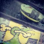 hippie van street art