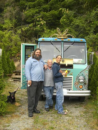 chevy van camping
