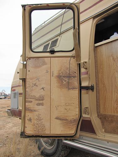 Camper Van Utah camping