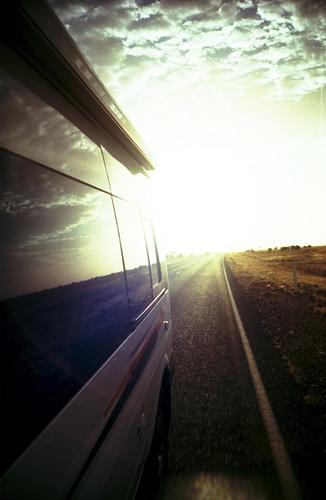 Camper Van Desert