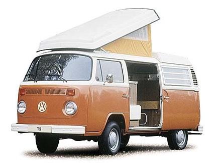 Camper Van California camping