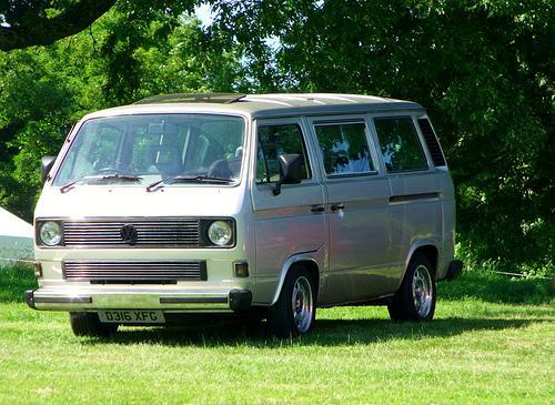 Volkswagen van camping