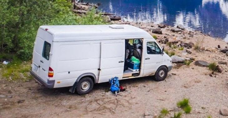 Filmmaker Converts Sprinter Van into Mobile Studio to Create Adventure Films