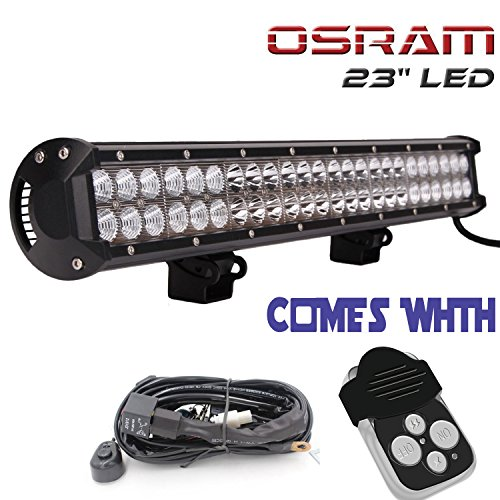 TURBO SII Osram 23″ Inch Led Light Bar 144w Flood And Spot Combo